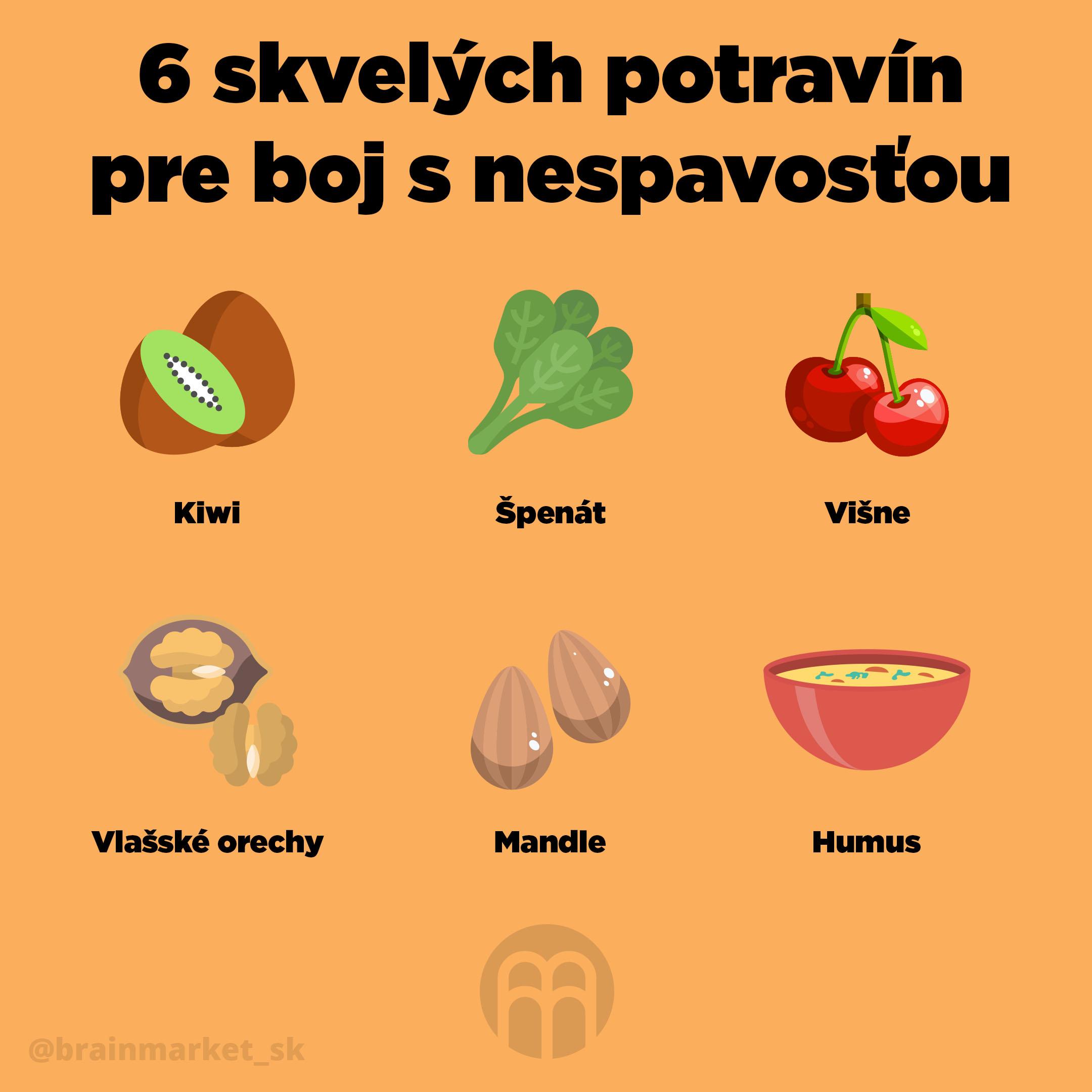 6_potravin_boj_s_nespavostou_Infografika_Instagram_BrainMarket