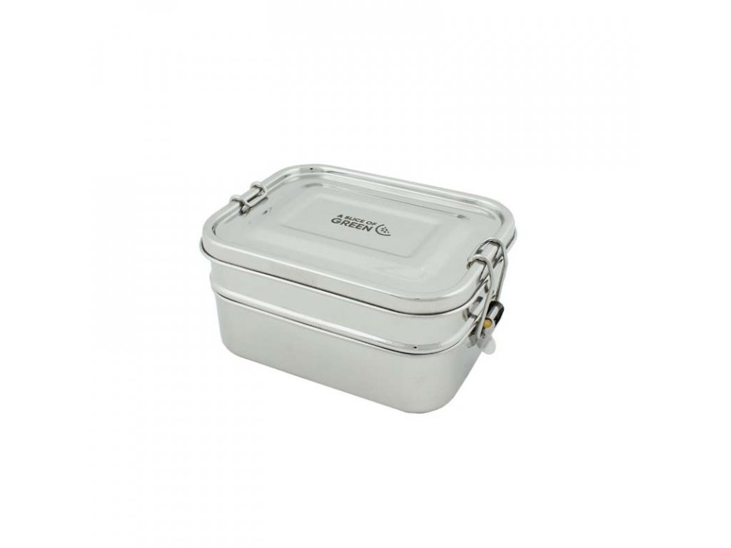 buruni leak resistant two tier lunch box
