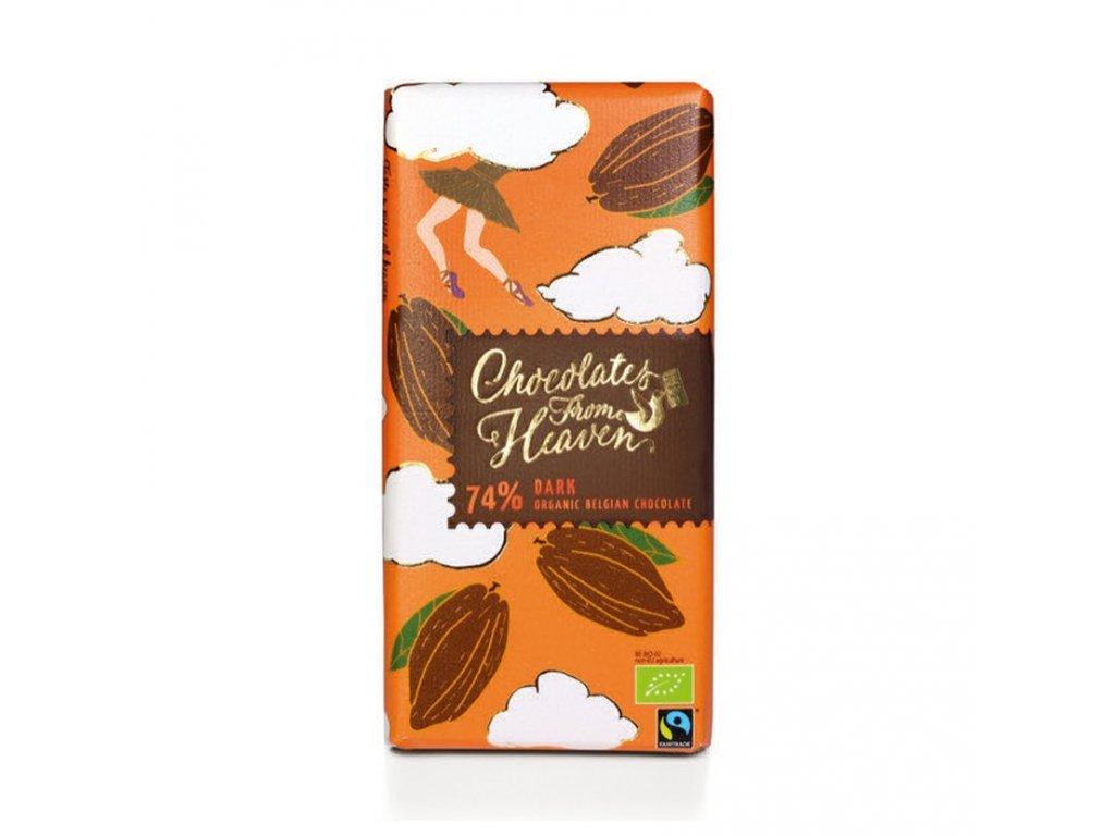 BIO horka cokolada 74 100g 3