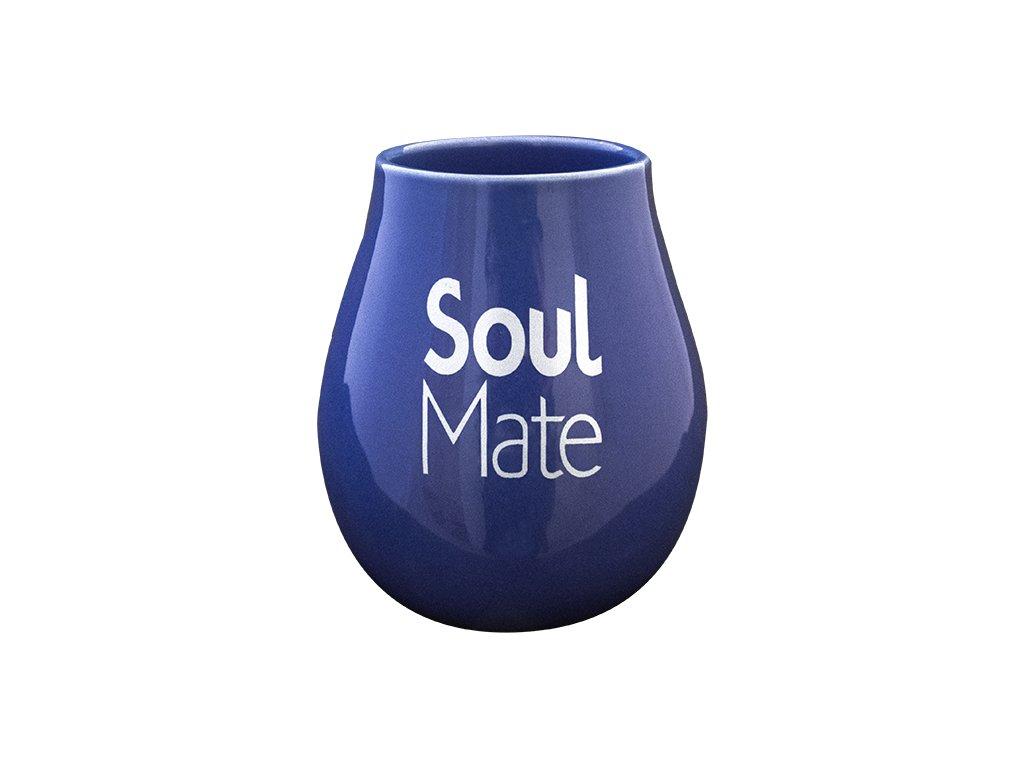eng pl Gourd ceramic blue Soul Mate 400ml 2632 2