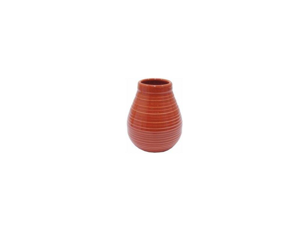 keramicka kalabasa cervena 350 ml
