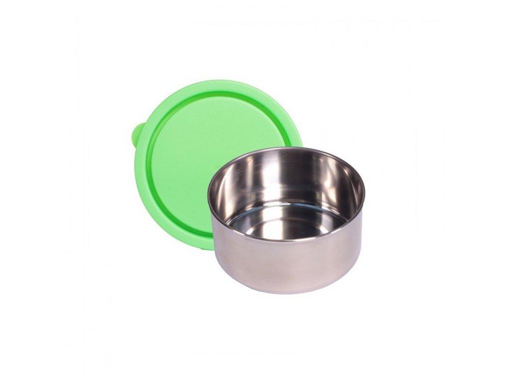 zelený maly box na jidlo