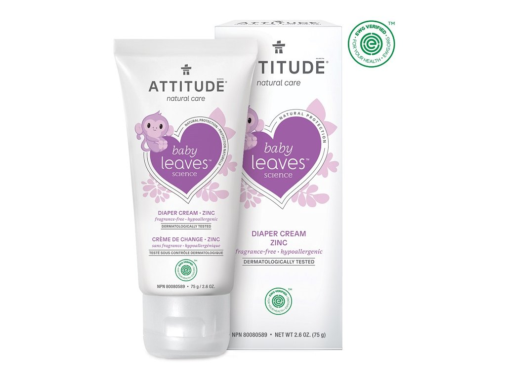 attitude zinc cream
