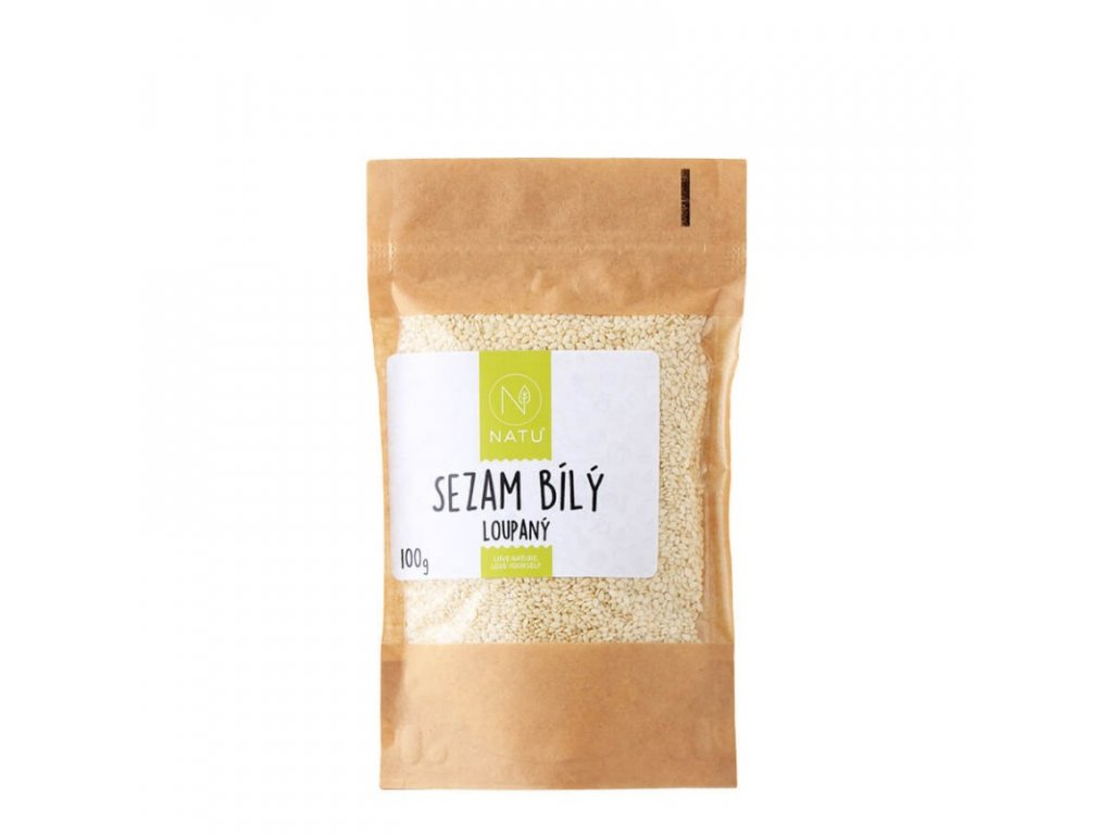 sezam bily loupany 100g (1)