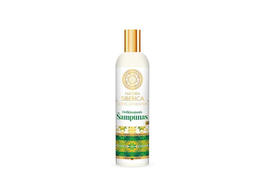 196 natura siberica loves lithuania hydratacni sampon 400 ml