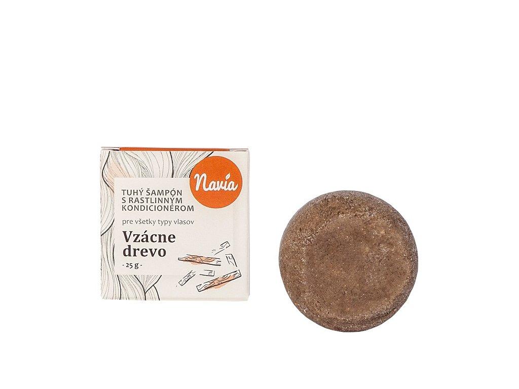 Vzácne drevo tuhý šampón 25 g
