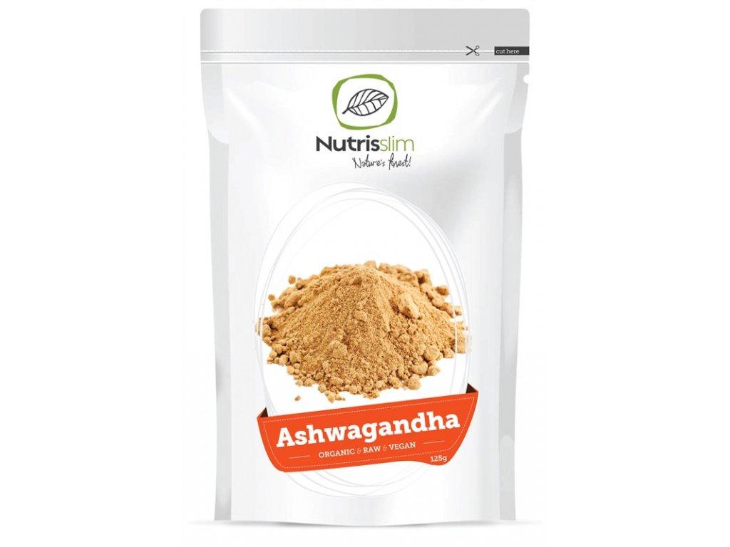 ashwagandha powder nutrisslim superfood organic vegan raw