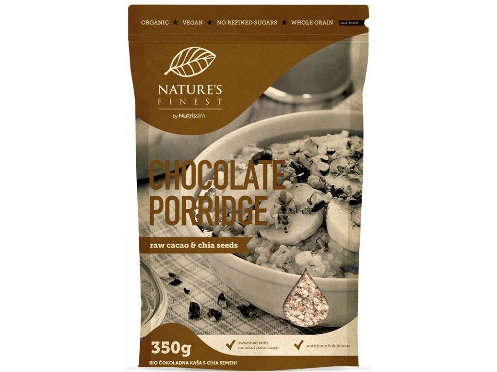 chocolate porridge 350g Natures Finest