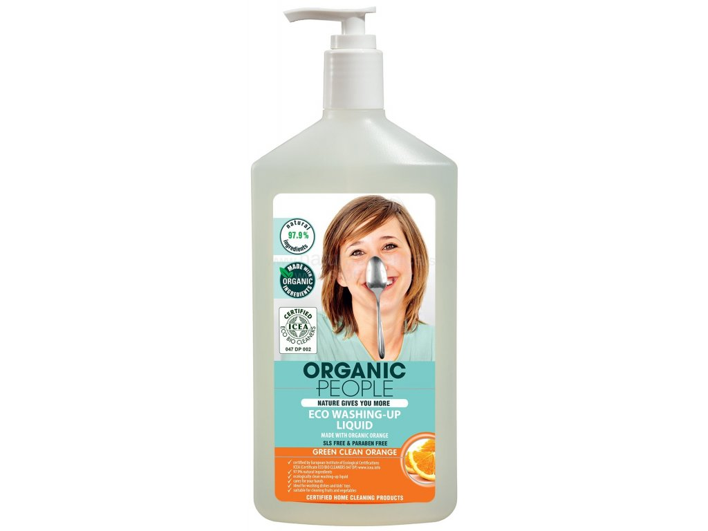 277 organic people myci prostredek pomeranc 500 ml