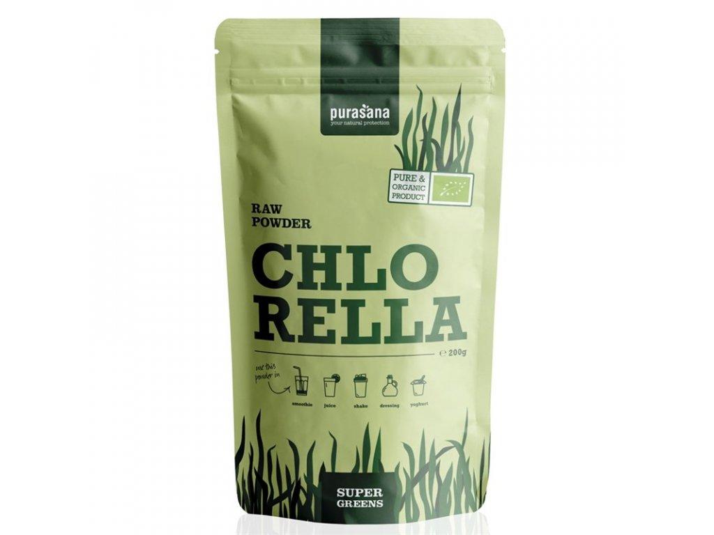 Pursana Chlorella raw powder bio