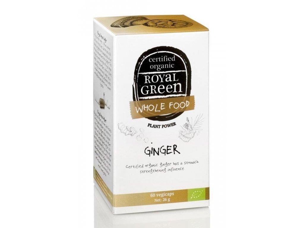 Royal green ginger zázvor bio