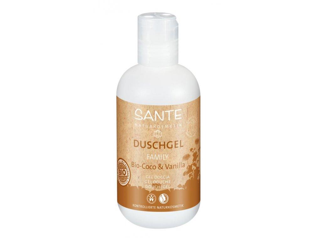 sante family shower gel kokos coco vanilla vanilka