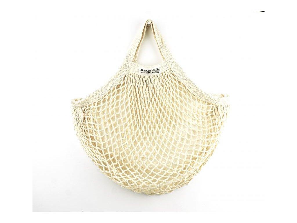 Re Sack String bag short handle front e1525611948175