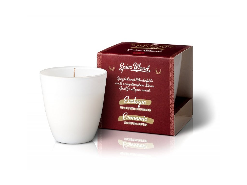 The greatest candle Spece Wood individual