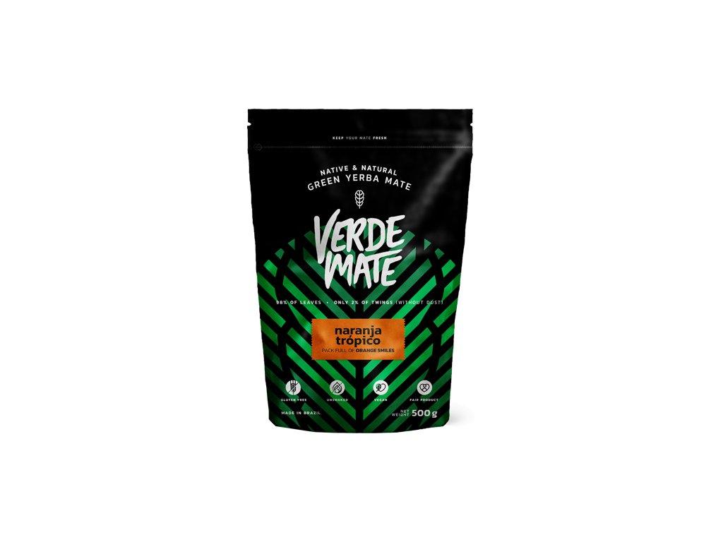 Yerba Verde Mate Green Naranja Tropico 0 5kg