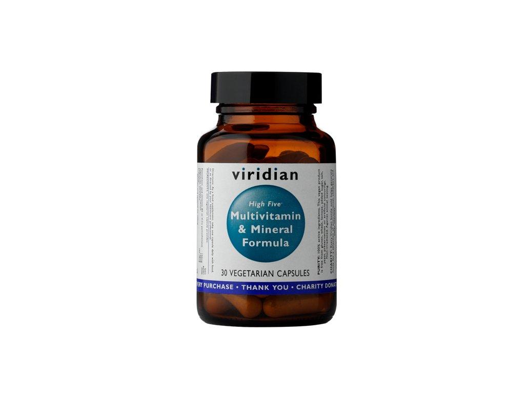 Viridian High Five Multivitamin & Mineral Formula (Počet kapsúl 120)