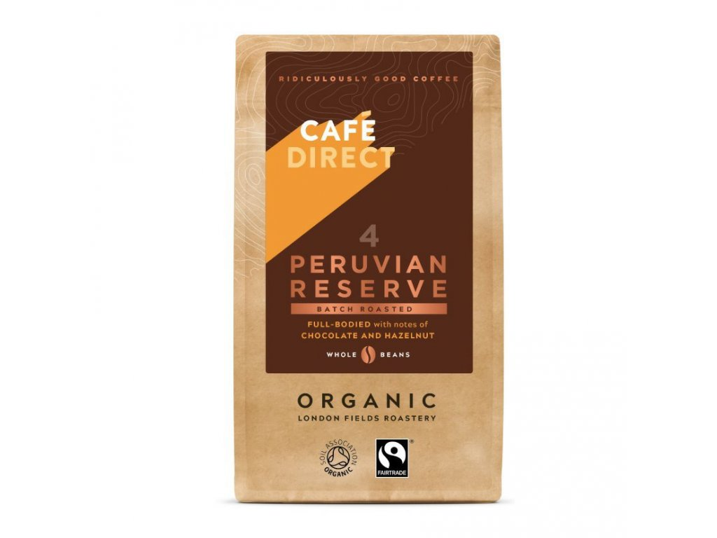 BIO Peru zrnkova kava 227g
