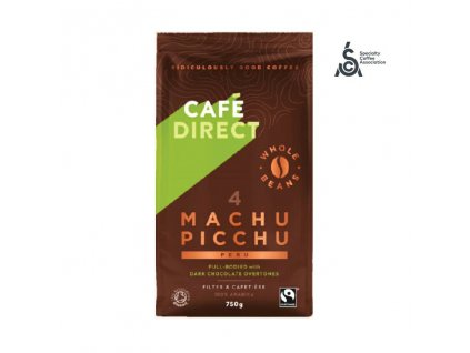 Cafedirect BIO Machu Picchu SCA 82 zrnkova kava 750g