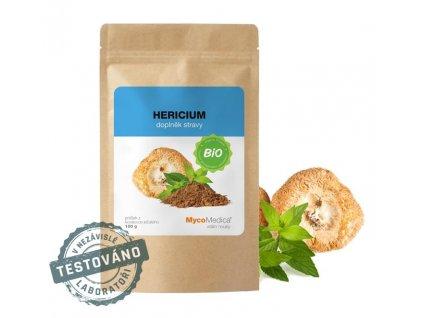 20930 mycomedica bio hericium lion s mane prasek 100 g