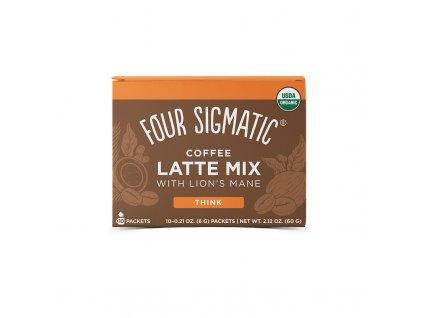 Four Sigmatic Lion's Mane Mushroom Coffee Latte mix (Množstvo 1 sáčok)