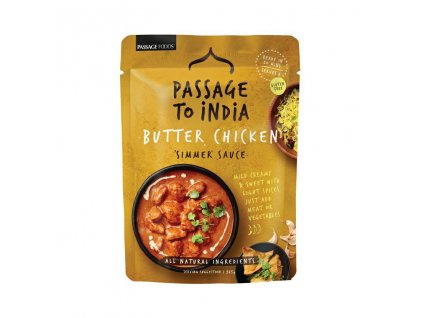 PASSAGE TO INDIA Butter Chicken omacka 375g