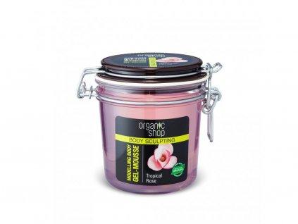 23945 organic shop modelujici telova gelova pena 350 ml