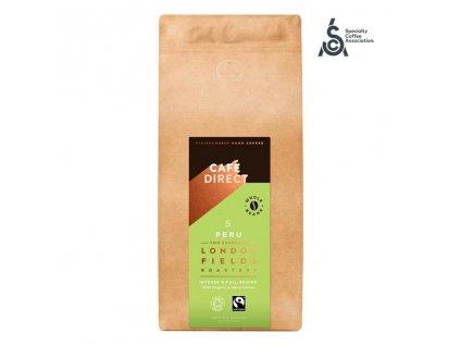 Cafedirect BIO Zrnkova kava Peru Reserve SCA 82 s tony kakaa a orisku 1kg