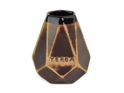 keramicka kalabasa diamant yerba mate natural tmava 350ml original