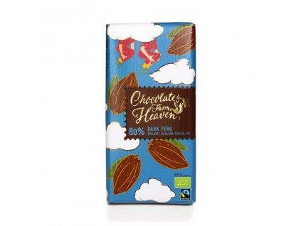 BIO horka cokolada Peru 80 100g 3
