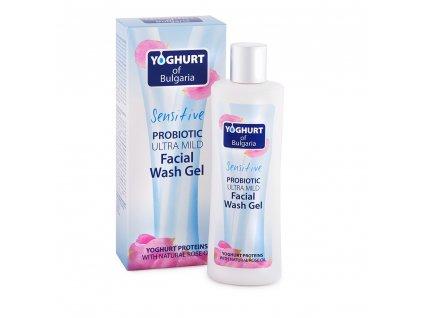 29244 yogurt of bulgaria probioticky cistici gel na oblicej ultra jemny 230 ml