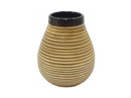 keramicka kalabasa standard natural yerba mate