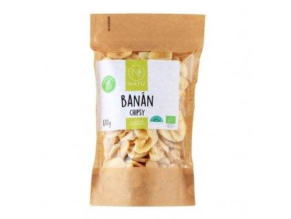 banan chipsy bio 170g