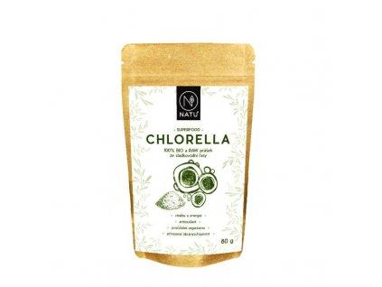 chlorella bio prasek 80g