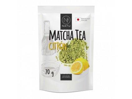 matcha tea bio premium japan citron 70g