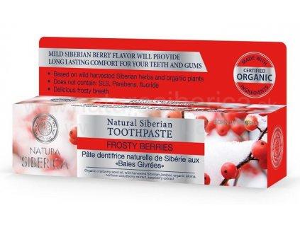 259 natura siberica prirodni sibirska zubni pasta zmrzle bobule 100 g
