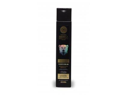 211 natura siberica muzi osvezujici pansky sprchovy gel bily medved 250 ml