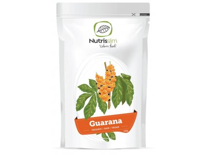 guarana powder nutrisslim superfood organic vegan raw