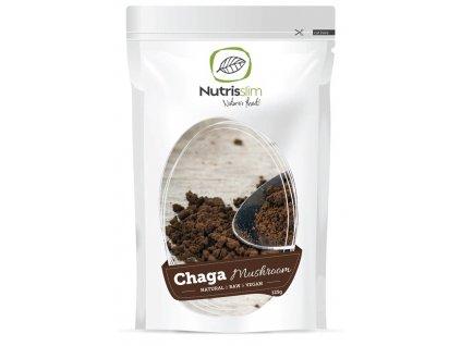 chaga mushroom powder nutrisslim superfood organic vegan raw