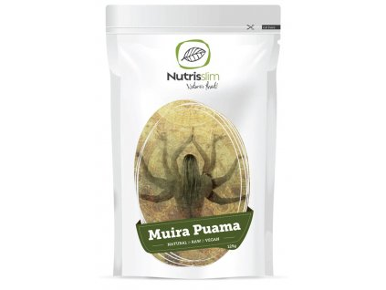 muira puama nutrisslim superfood organic vegan raw