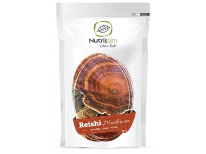 reishi mushroom powder nutrisslim superfood organic vegan raw
