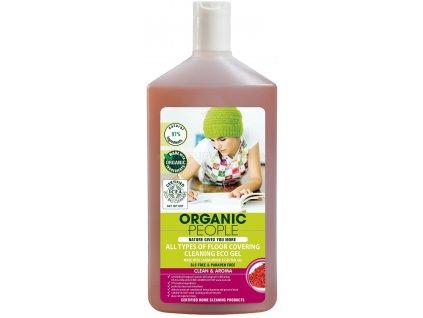 280 organic people cistici gel na vsechny typy podlah 500 ml