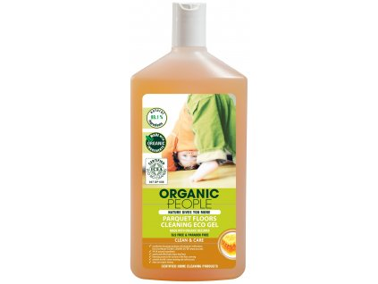 283 organic people eko cistici gel na parkety s organickym vcelim voskem 500 ml