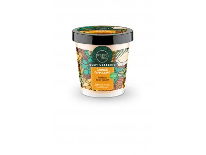 Organic shop Tělový krém karamelové cappuccino