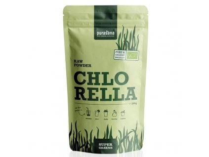 Pursana Chlorella raw powder bio