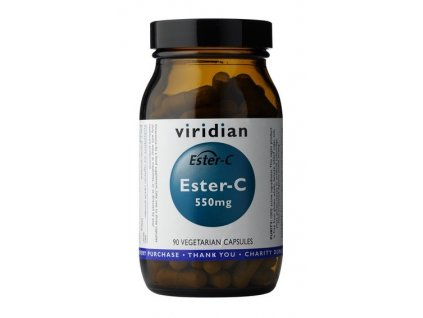 Ester C (550mg) 90 vitamin c viridian