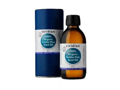lněný olej bio viridian