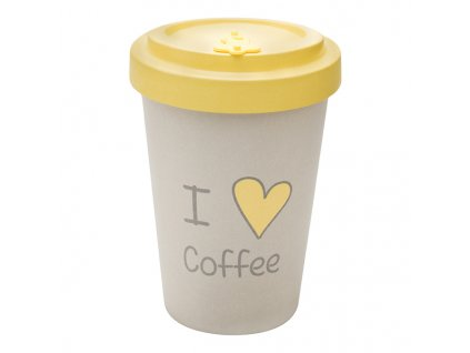 woodway opakovane pouzitelny kelimek i love coffee zelenadomacnost