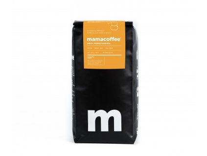 Mamacoffee - Brasil fazenda Bananal, 1000g (Druh mletie Mletá)