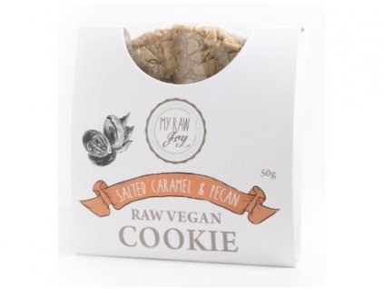 cookie superfood bio slany karamel pekanove orechy