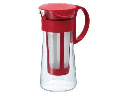 1752 konvice pro pripravu ledove kavy hario mizudashi mcpn 7r cervena 1